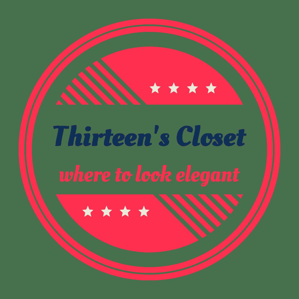Thirteen's Closet Logo